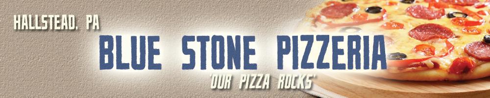 Blue Stone Header
